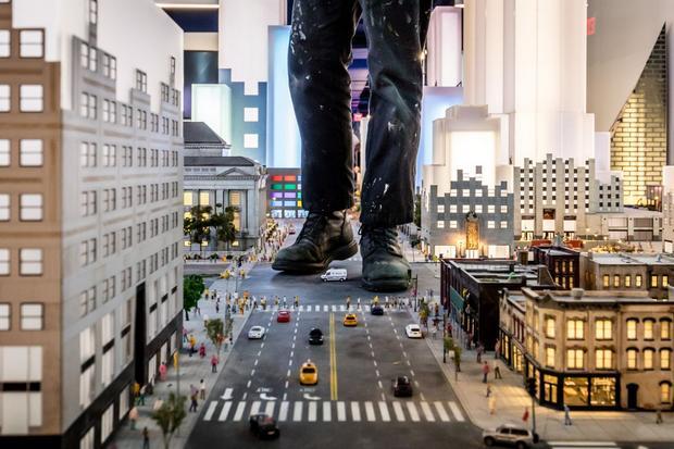 التايم سكوير من اشهر اماكن السياحة في امريكا نيويورك