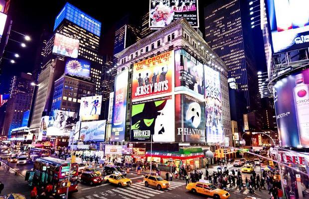 ميدان التايمز نيويورك
