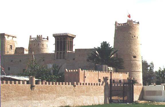 متحف عجمان وهو احدى اهم اماكن السياحة في عجمان الامارات
