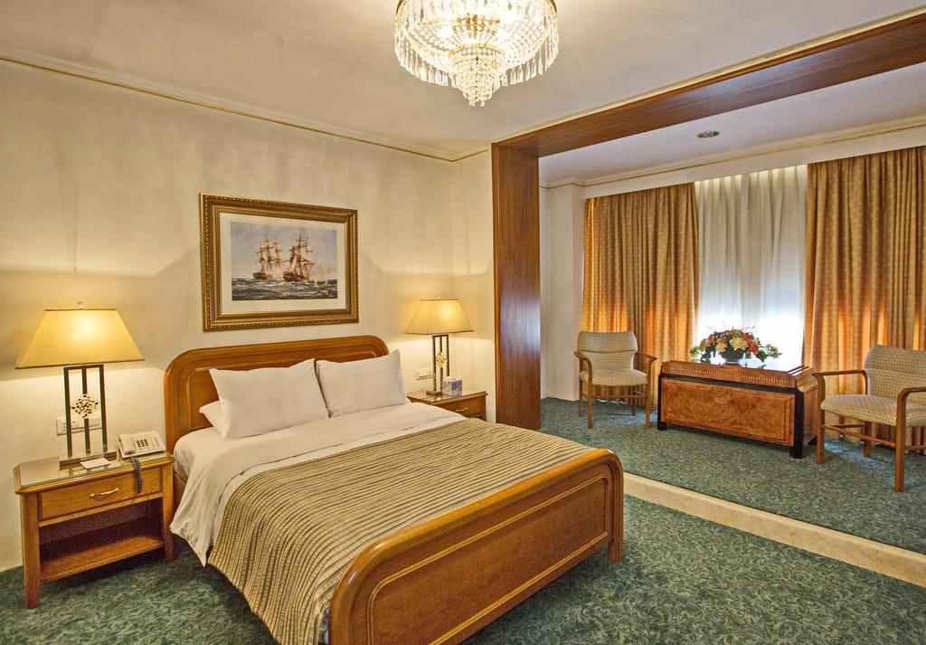 فندق عمان انترناشونال من افضل الفنادق في عمان الاردن ، تقييمات عالية وممتازة من كافة النواحي