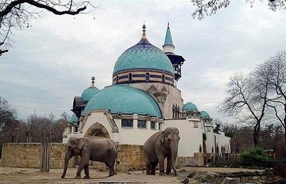 حديقة حيوانات بودابست في المجر