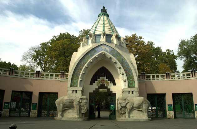 حديقة حيوان بودابست في سيتي بارك