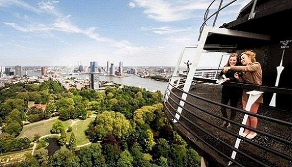 برج يوروماست في روتردام