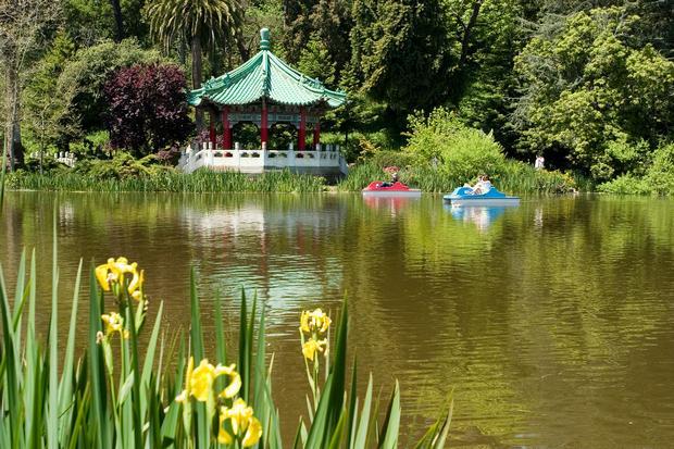 حديقة البوابة الذهبية سان فرانسيسكو