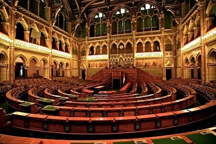 مبنى البرلمان المجري من اشهر اماكن السياحة في بودابست المجر