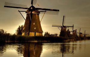 طواحين كنديرديك في روتردام
