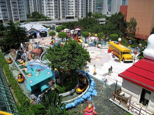 حديقة كولون من اجمل اماكن السياحة في هونغ كونغ الصين