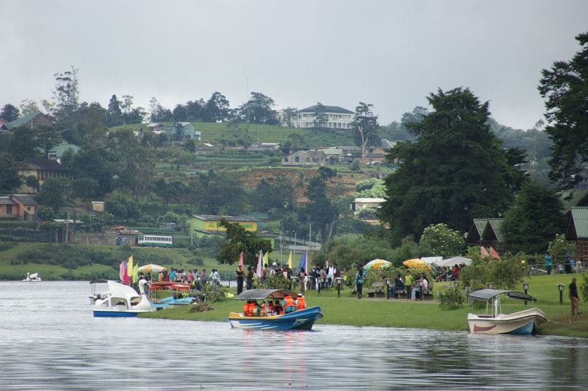 بحيرة جريجوري من افضل اماكن السياحة في نوراليا سريلانكا