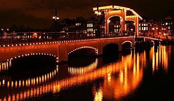 جسر ماجيري في امستردام من افضل الاماكن في امستردام سياحة - مدينة امستردام