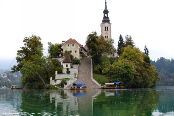 جزيرة بليد سلوفينيا