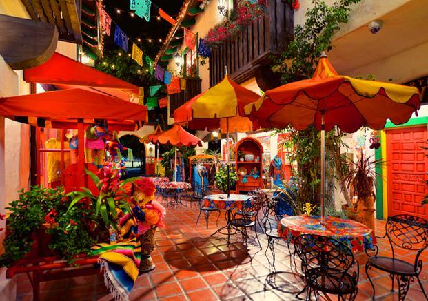 المدينة القديمة في سان دييغو امريكا