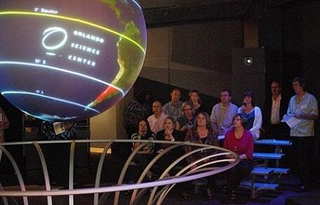 كوكب الأرض في مركز أورلاندو العلمي