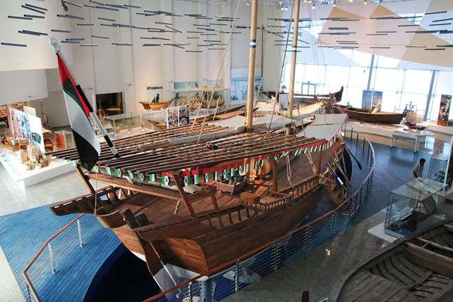 متحف الشارقة البحري الامارات