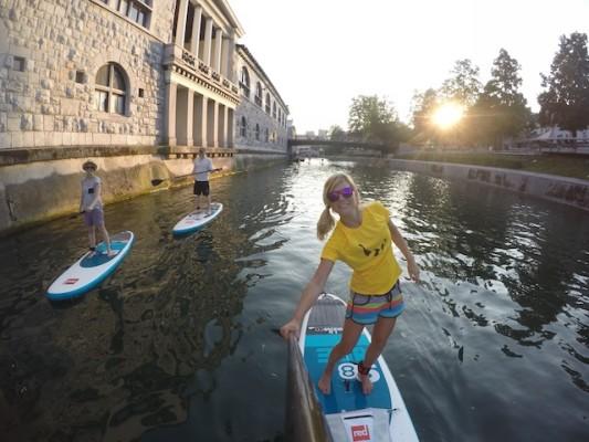 نهر ليوبليانا من افضل الاماكن السياحية في ليوبليانا