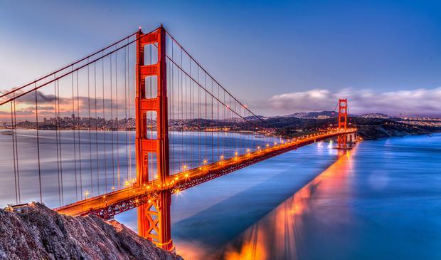 جسر البوابة الذهبية سان فرانسيسكو
