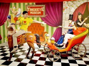 متحف تريك آي سنغافورة من اشهر اماكن السياحة في سنغافورة سنتوسا