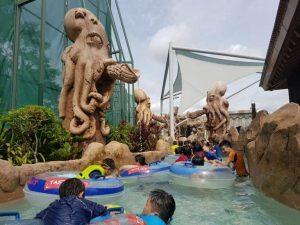 منتزه ادفنشر كوف ووتر بارك من افضل اماكن السياحة في سنتوسا سنغافورة