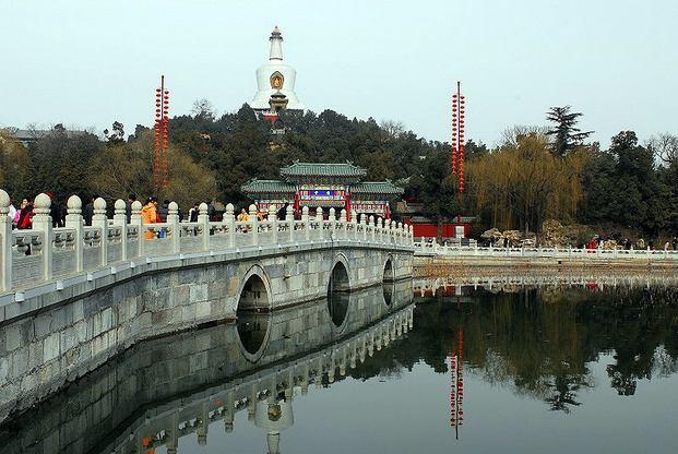حديقة بيهاي من اجمل حدائق بكين الصينية