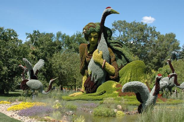 حديقة مونتريال النباتية من اشهر اماكن السياحة في مونتريال