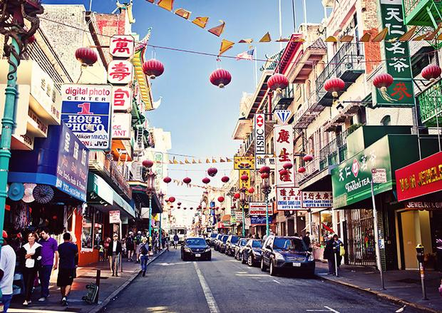 الحي الصيني سان فرانسيسكو