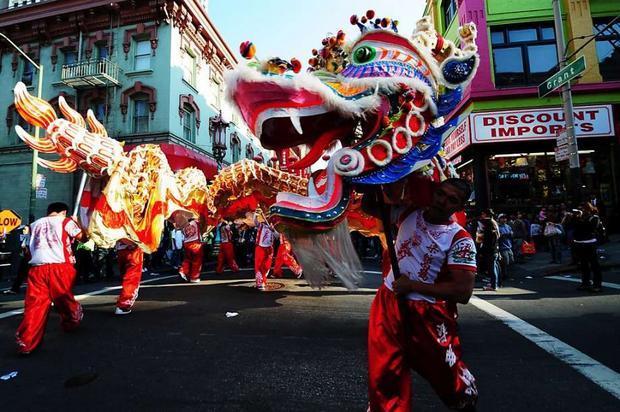 الحي الصيني من افضل اماكن السياحة في امريكا سان فرانسيسكو