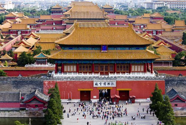 المدينة المحرمة بكين من اشهر الاماكن السياحية في مدينة بكين الصين
