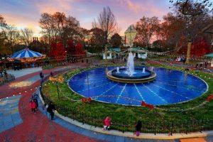 منتزه فرانكلين سكوير في فيلادلفيا