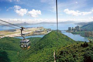 تلفريك نونغ بينغ 360 في هونغ كونغ الصين