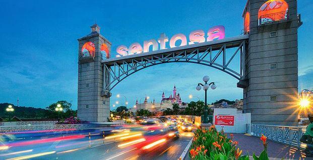 جزيرة سنتوسا سنغافورة