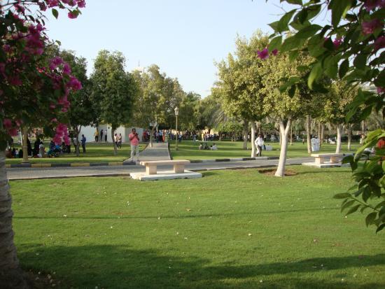 منتزه الشارقة الوطني من اجمل اماكن السياحة في الشارقة الامارات