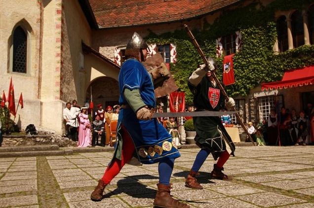 قلعة بليد من افضل الاماكن السياحية في بليد سلوفينيا