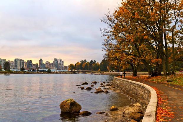 حديقة ستانلي من افضل اماكن السياحة في فانكوفر كندا