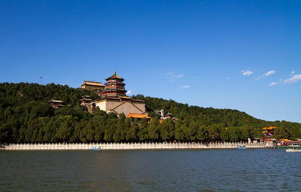 القصر الصيفي بكين الصين