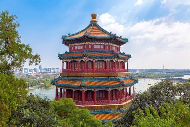 القصر الصيفي من اجمل الاماكن السياحية في بكين