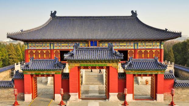معبد السماء في بكين من اجمل الاماكن السياحية في بكين الصين