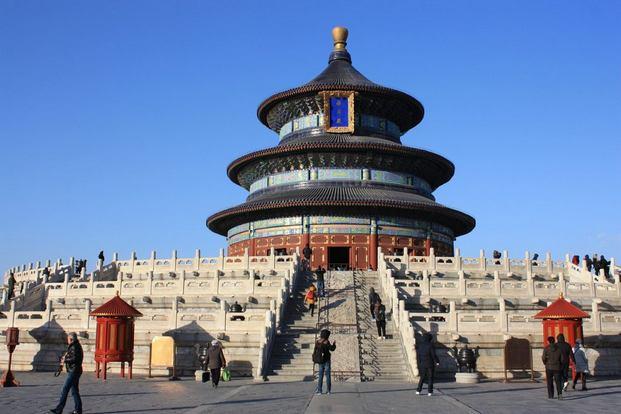 معبد السماء في بكين من افضل الاماكن السياحية في بكين الصين