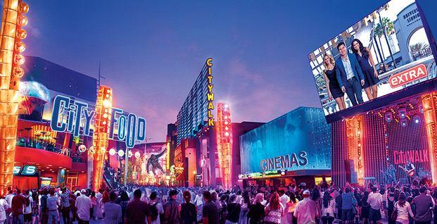 يونيفرسال ستوديوز من افضل الاماكن السياحية في لوس انجلوس امريكا