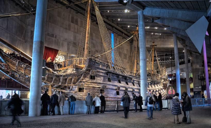 متحف فاسا من اهم معالم السياحة في مدينة ستوكهولم السويدية