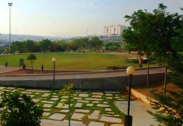 الساحة الدائرية في حدائق الملك حسين في عمان