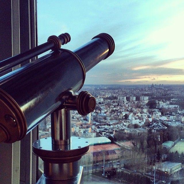 أتوميوم بروكسل من اشهر اماكن سياحية في بروكسل بلجيكا
