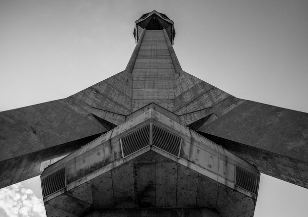 برج افالا من اجمل اماكن السياحة في بلغراد صربيا