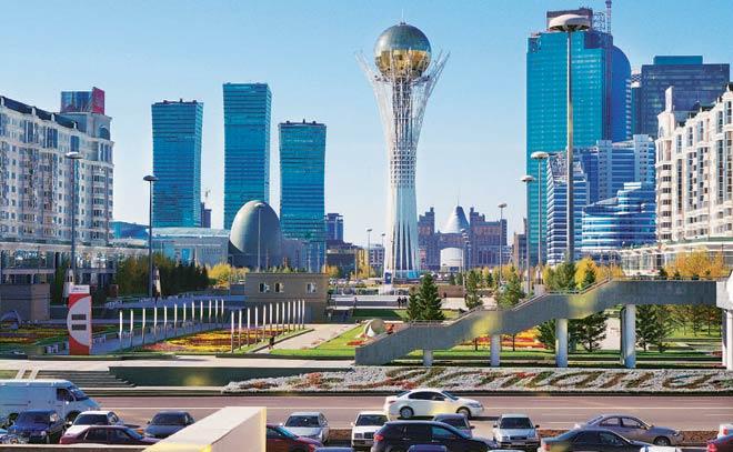 الاماكن السياحية في كازاخستان