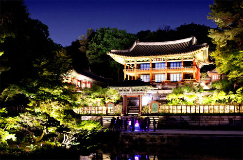 قصر تشانغدوك - السياحه في سيول كوريا