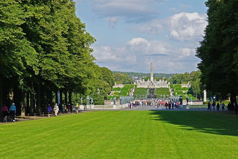 حديقة فيجلاند في متنزه فروجنر في أوسلو - تعتبر من اجمل اماكن السياحة في أوسلو