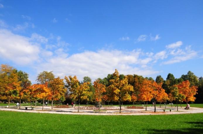 حديقة ليوبليانا النباتية من اجمل حدائق مدينة ليوبليانا
