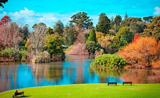 الحدائق النباتية الملكية في ملبورن من اجمل الاماكن السياحية في ملبورن