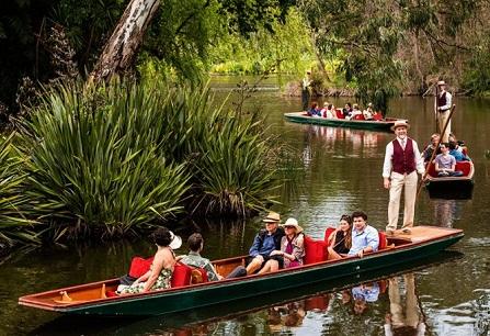 جولة بحيرة الزخرف في الحدائق النباتية الملكية في ملبورن