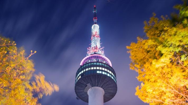برج إن سول - كوريا الجنوبية من افضل الاماكن السياحية في سيول