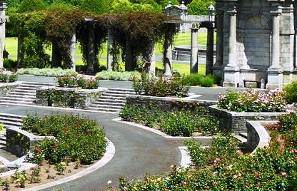 حديقة الحجارة في حدائق النباتات الوطنية في دبلن