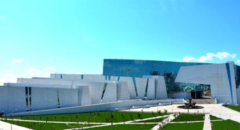 مبنى متحف كازاخستان الوطني في مدينة استانا